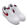 NIKE AIR FORCE 1 '07 LV8 WHITE/UNIVERSITY RED-BLUE VOID 823511-106画像