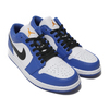 NIKE AIR JORDAN 1 LOW HYPER ROYAL/ORANGE PEEL-WHITE-BLACK 553558-401画像