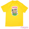 MISHKA GARBAGE PAIL ADDERS TEE YELLOW画像