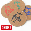 CHUMS Recycle Leather Coaster Booby Logo CH62-1176画像