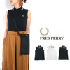 FRED PERRY Lady's #F5284 Sleeveless Pique Shirt画像