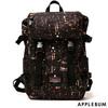 APPLEBUM × MAKAVELIC Babylon View Backpack BLACK画像