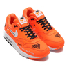 NIKE WMNS AIR MAX 1 LX TOTAL ORANGE/WHITE-BLACK 917691-800画像