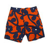 Surf Line HAWAII/Original Jams G-POPLIN SHORTS navy x orange画像