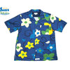 Surf Line HAWAII/Original Jams S/S G-POPLIN SHIRTS blue画像