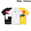 FILA × Kinetics BIG HOUSE LOGO TEE FM9526画像