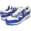 "NIKE AIR MAX 1 PRNT ""WE LOVE NIKE"" white/game royal-neutral grey AQ0927-100画像"