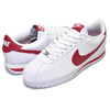 NIKE CORTEZ BASIC LEATHER wht/gym red 819719-101画像
