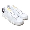 adidas Originals Stan Smith RUNNING WHITE/CORE BLACK/GOLD MET AH2456画像