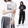 FILA × atmos pink FRINGE LONG T-shirt FL3271画像