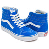 VANS SK8-HI (SUEDE / CANVAS) IMPERIAL BLUE / TRUE WHITE VN0A38GEMWG画像
