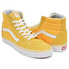 VANS SK8-HI (SUEDE / CANVAS) SPECTRA YELLOW / TRUE WHITE VN0A38GEMWH画像
