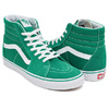 VANS SK8-HI (SUEDE / CANVAS) ULTRAMARINE GREEN / TRUE WHITE VN0A38GEMWI画像