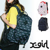 X-girl CHEWY LOGO BACKPACK 5182011画像