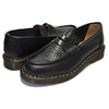 Dr.Martens × STUSSY PENTON LOAFER BLACK MADE IN ENGLAND VIBRANCE CROCO 24359001画像