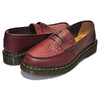 Dr.Martens × STUSSY PENTON LOAFER CHERRY RED MADE IN ENGLAND VIBRANCE CROCO 24359600画像