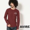 AVIREX HONEY COMB WAFFLE CREW NECK T-SHIRT 6183499画像