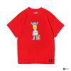 THE SIMPSONS × ATMOS LAB BART TEE RED AL18F-PT01-RED画像