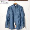 orslow MEN'S CHAMBRAY SHIRTS CHAMBRAY M8070-84画像