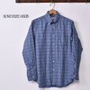 INDIVIDUALIZED SHIRTS L/S STANDARD FIT BD SHIRT FLANNEL CHECK BLUE画像