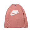NIKE AS M NSW TOP LS KNT RUST PINK/RUST PINK/WHITE 930326-685画像