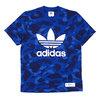 A BATHING APE × adidas Originals CAMO TEE BLUE画像