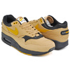 NIKE AIR MAX 1 PREMIUM ELEMENTAL GOLD / MINERAL YELLOW - BLACK 875844-700画像