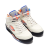 NIKE AIR JORDAN 5 RETRO (GS) SAIL/RACER BLUE-CONE-BLACK 440888-148画像