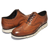 COLE HAAN ZEROGRAND WING OX british tan C14493画像
