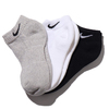 NIKE 3PPK COTTON CUSHION LOW CUT SOCK + MOISTURE MANAGEMENT MULTI SX4701-901画像
