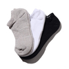NIKE 3PPK COTTON CUSHION NO SHOW SOCK + MOISTURE MANAGEMENT MULTI SX4702-901画像