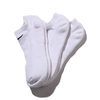 NIKE 3PPK COTTON CUSHION NO SHOW SOCK + MOISTURE MANAGEMENT WHITE SX4702-101画像
