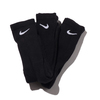 NIKE 3PPK CUSHION CREW SOCK + MOISTURE MANAGEMENT BLACK SX4700-001画像