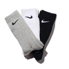 NIKE 3PPK CUSHION CREW SOCK + MOISTURE MANAGEMENT MULTI SX4700-901画像