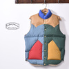 Rocky Mountain Featherbed DOWN VEST MULTI COLOR画像