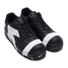 NIKE W AF1 UPSTEP LX BLACK/BLACK-WHITE 898421-001画像