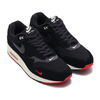 NIKE AIR MAX 1 PREMIUM BLACK/OIL GREY-UNIVERSITY RED-SAIL 875844-007画像