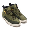 NIKE AIR JORDAN 12 RETRO OLIVE CANVAS/METALLIC GOLD-BLACK-SAIL 130690-301画像