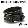 REAL HARNESS 38mm スティラップレザーベルト画像