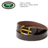 Tory Leather Plain Belt w/ Anchor Buckle画像