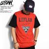 LEFLAH LESS S/S TEE -RED-画像