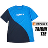 AND1 TAICHI TEE d.blue 8F104-05画像