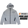 AND1 HOOK LOGO HOODIE gray 8F301-04画像