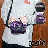 X-girl GLOSSY MINI BAG W/BELT 5183009画像