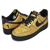 "NIKE AIR FORCE 1 '07 ""CARIBANA"" metallic gold/black-blk AV3219-700画像"