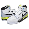 "NIKE AIR JORDAN LEGACY 312 NRG ""JUST DON"" white/black-volt-vivid blue AQ4160-107画像"
