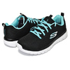 SKECHERS GRACEFUL GET CONNECTED black/turquoise 12615-BKTQ画像