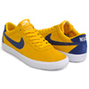 NIKE SB WMNS BRUIN LOW YELLOW OCHRE / BLUE VOID - WHITE AJ1440-700画像