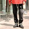 AVIREX TYPE BLUE BLACK DENIM 5POCKET PANT 6186115画像