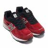 new balance M990RB4 MERCURY RED画像